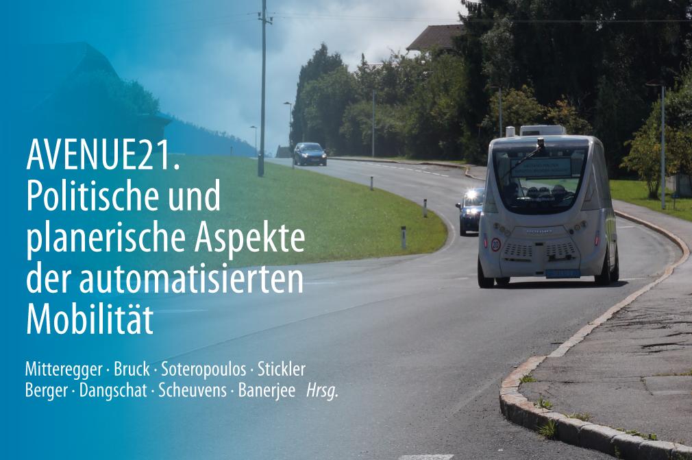 Neue Publikation: Politische und planerische Aspekte der automatisierten Mobilität